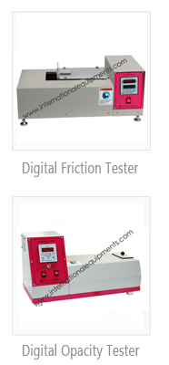 Digital Friction / Opacity Tester